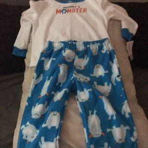 Carters pajamas 24 months 2 piece